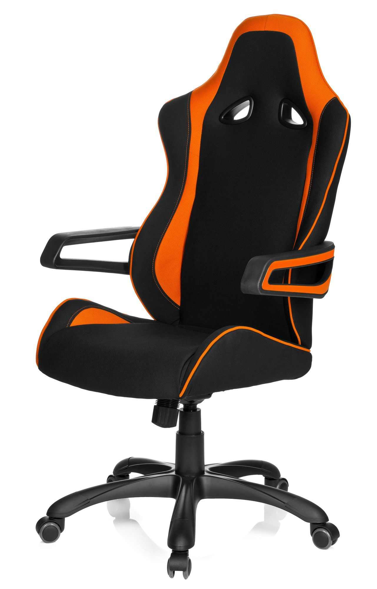 gaming stuhl b rostuhl racer pro ii stoff schwarz. Black Bedroom Furniture Sets. Home Design Ideas