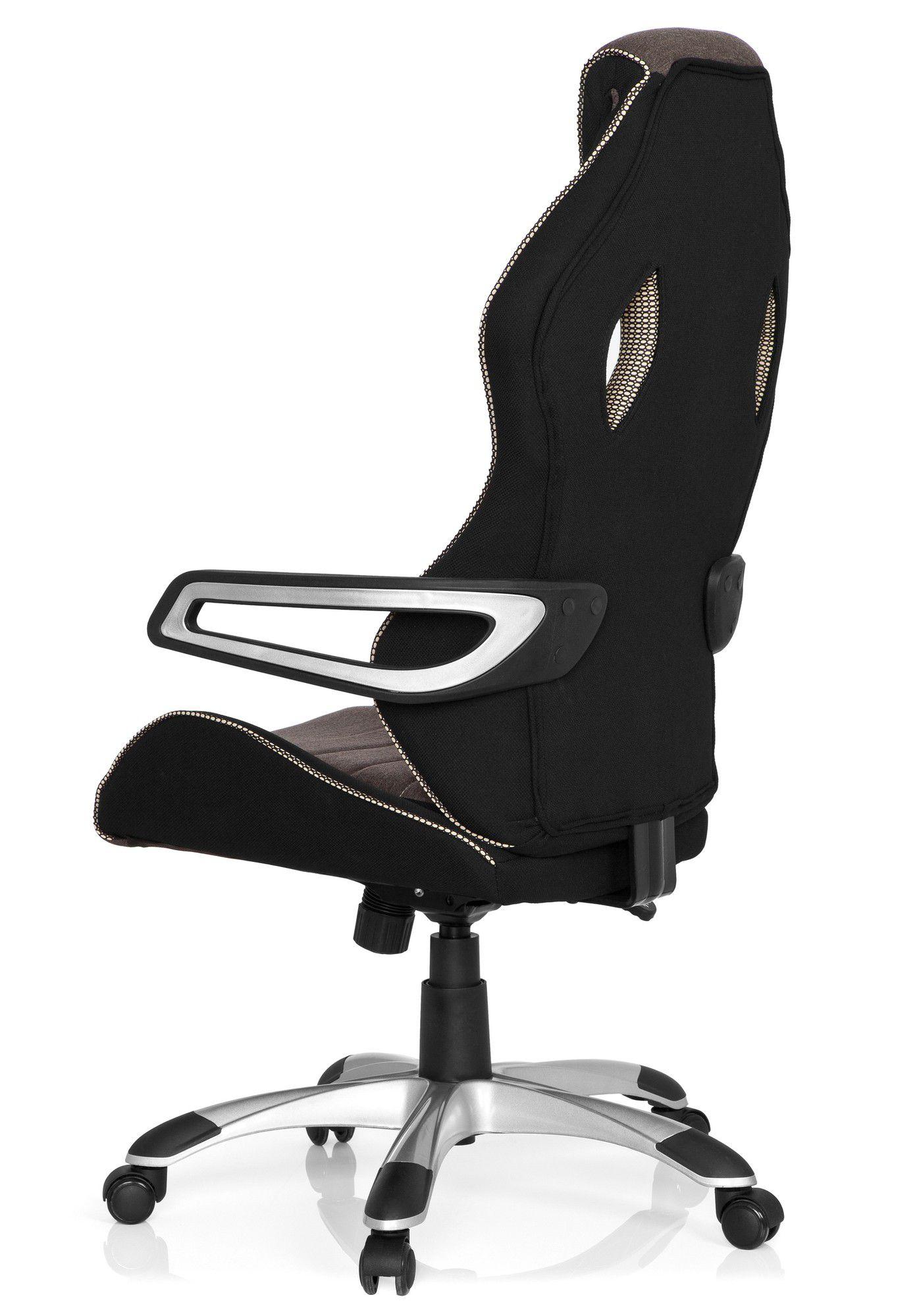 gaming stuhl b rostuhl racer pro iii stoff schwarz grau. Black Bedroom Furniture Sets. Home Design Ideas