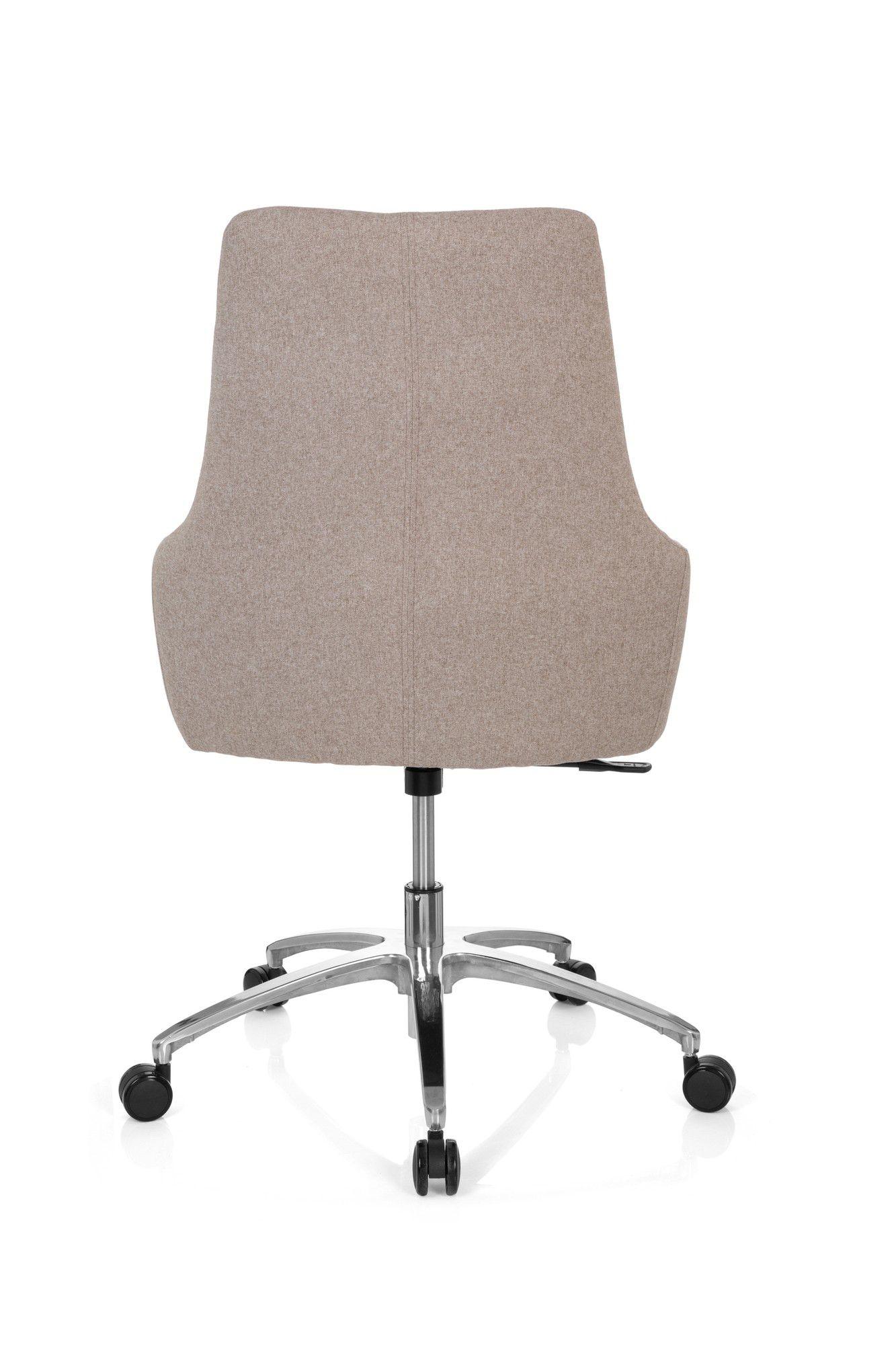 Bürostuhl Drehstuhl SHAKE 100 Stoff hellgrau hjh OFFICE