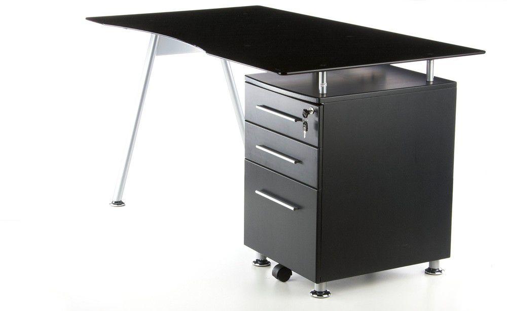 Schreibtisch Computertisch Glastisch Start Up