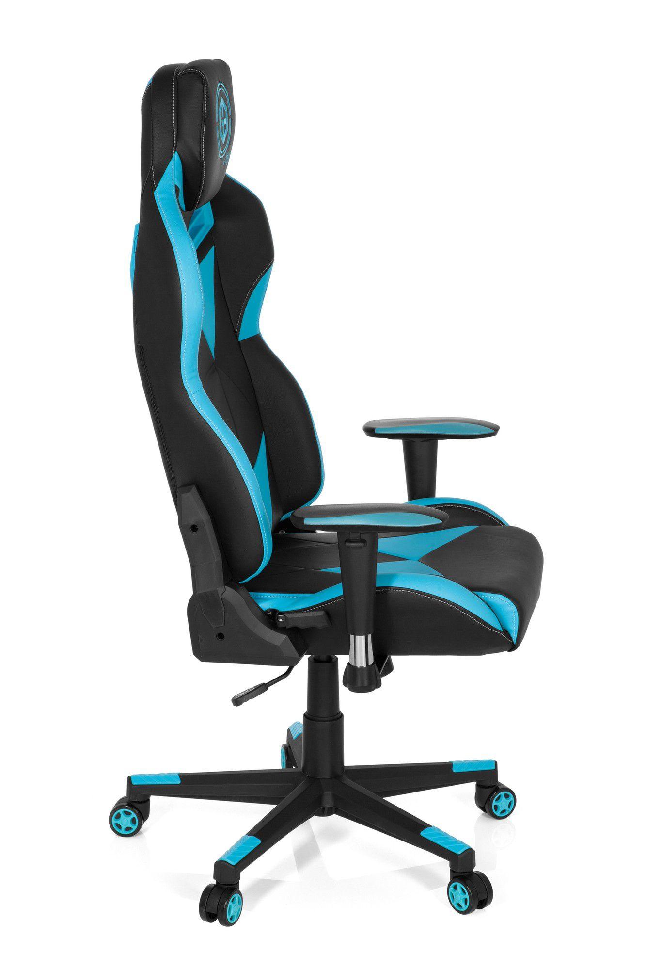 gaming stuhl b rostuhl gamebreaker sx 03 kunstleder schwarz blau hjh office b2b deutschland. Black Bedroom Furniture Sets. Home Design Ideas