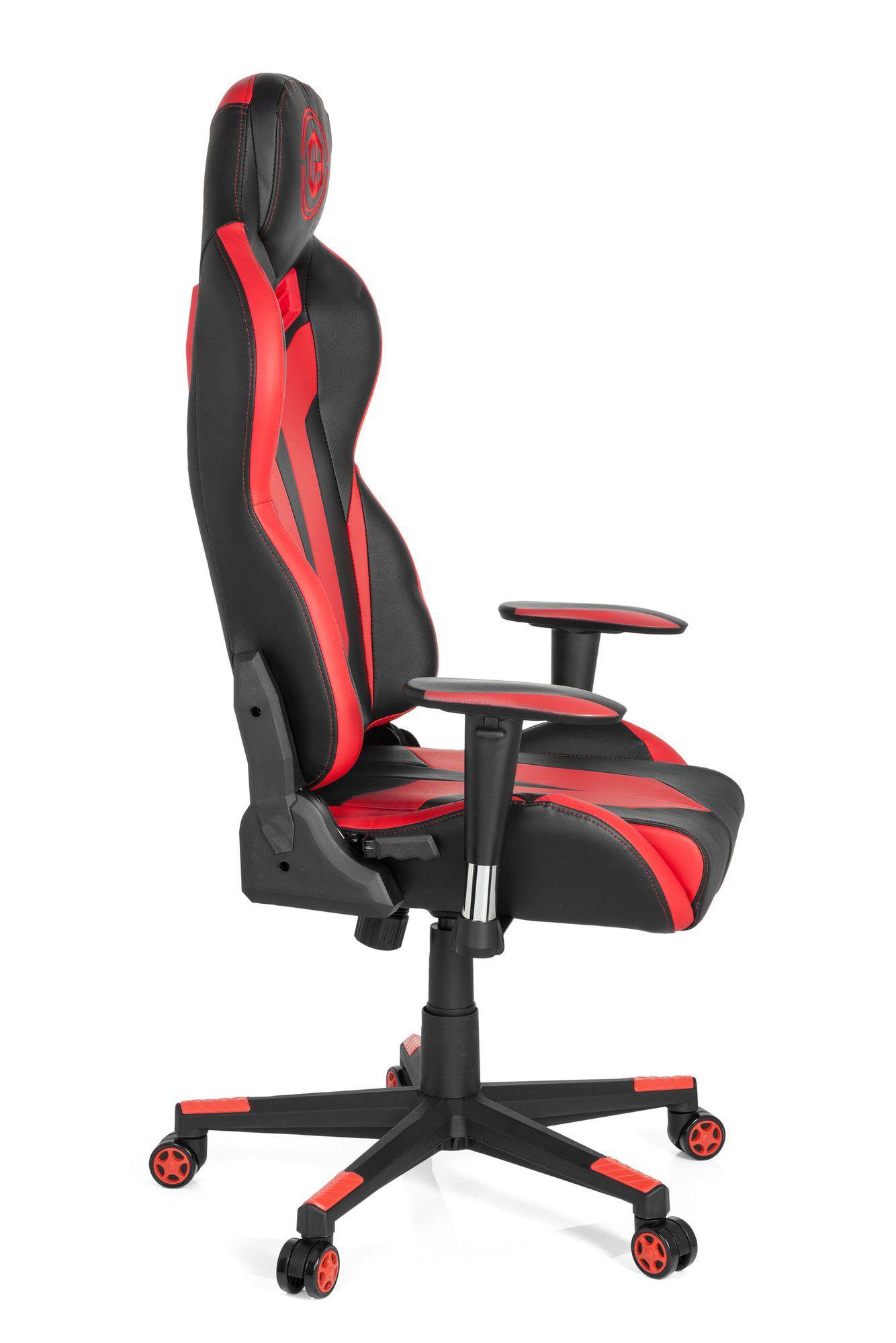 Gaming Stuhl Vr 12 Rot Bürostuhl Gamebreaker Kunstleder Schwarz 76bfgy