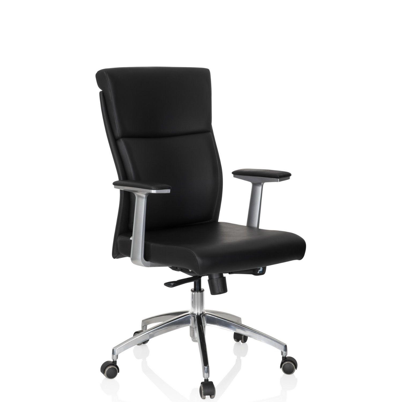 b rostuhl chefsessel monza 10 leder schwarz hjh office b2b deutschland. Black Bedroom Furniture Sets. Home Design Ideas