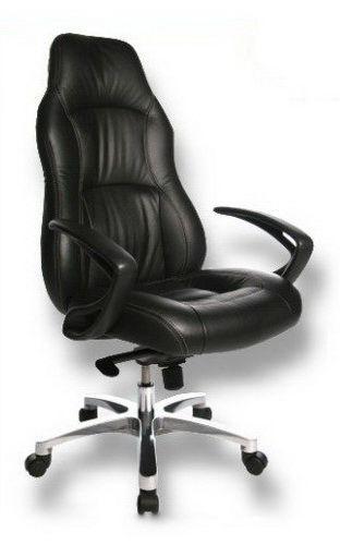 Topstar Bürostuhl Chefsessel Office Rs1 Leder Schwarz B2b