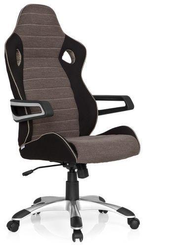 gaming stuhl b rostuhl racer pro iv stoff schwarz grau beige hjh office b2b deutschland. Black Bedroom Furniture Sets. Home Design Ideas