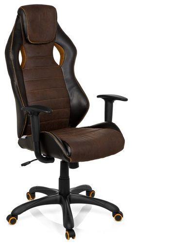 gaming stuhl b rostuhl racer vintage iv kunstleder braun hjh office b2b deutschland. Black Bedroom Furniture Sets. Home Design Ideas