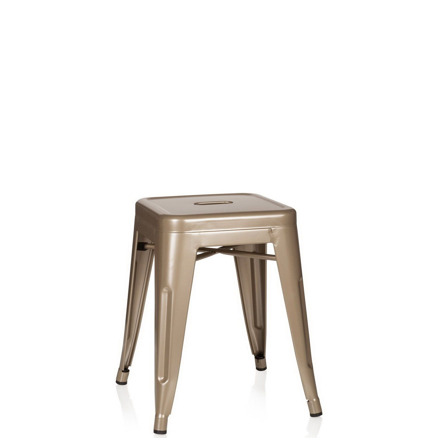 Hocker VANTAGGIO metallic champagner hjh OFFICE