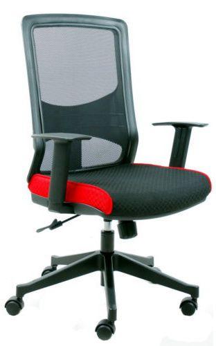 b rostuhl chefsessel lavita netzstoff schwarz blau hjh office b2b deutschland. Black Bedroom Furniture Sets. Home Design Ideas
