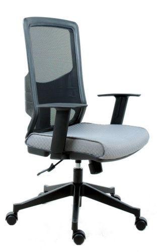 b rostuhl chefsessel lavita netzstoff schwarz schwarz hjh office b2b deutschland. Black Bedroom Furniture Sets. Home Design Ideas