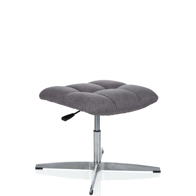 Bürostuhl Chefsessel Drehstuhl Stoff Schreibtischstuhl SARANTO PLUS hjh OFFICE