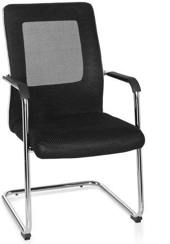 konferenzstuhl freischwinger stuhl estralla schwarz hjh office b2b deutschland. Black Bedroom Furniture Sets. Home Design Ideas