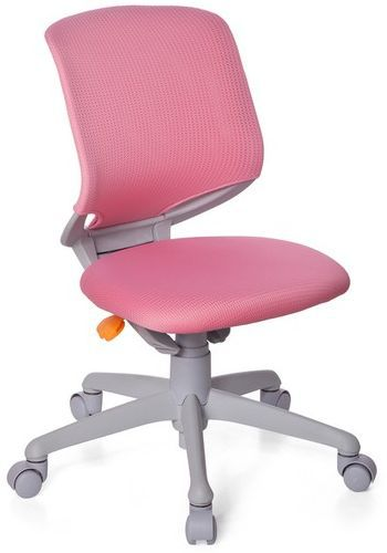 Kinderschreibtischstuhl / Kinderstuhl KID MOVE GREY pink/grau hjh OFFICE