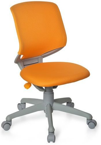 * Kinderschreibtischstuhl / Kinderstuhl KID MOVE GREY orange/grau hjh OFFICE