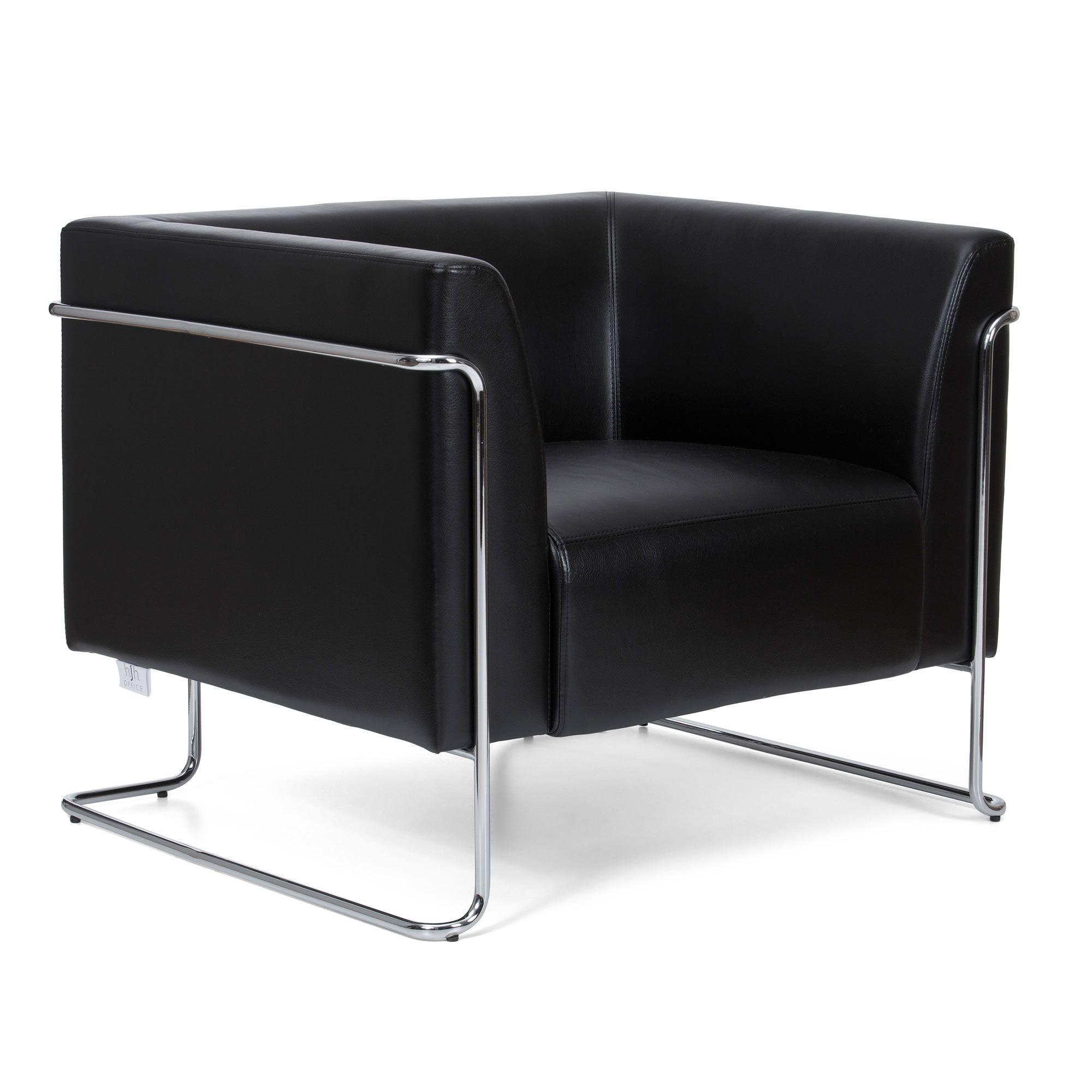 loungesessel curacao kunstleder 1 sitzer hjh office visitor b2b deutschland. Black Bedroom Furniture Sets. Home Design Ideas