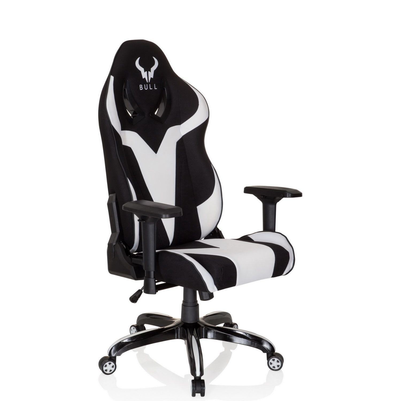 gaming stuhl b rostuhl promoter ii stoff schwarz wei. Black Bedroom Furniture Sets. Home Design Ideas