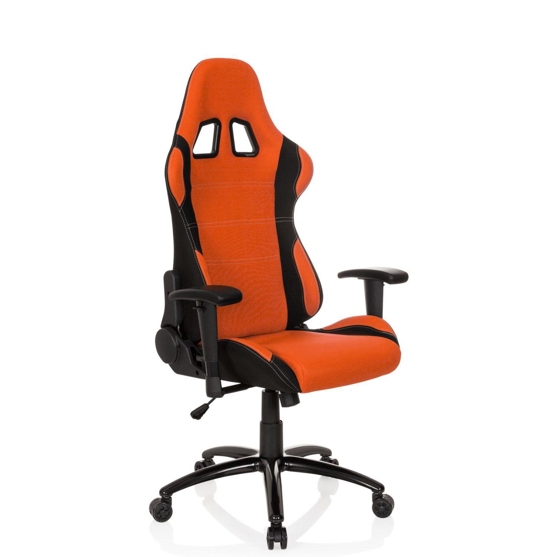 gaming stuhl b rostuhl game force stoff schwarz orange. Black Bedroom Furniture Sets. Home Design Ideas