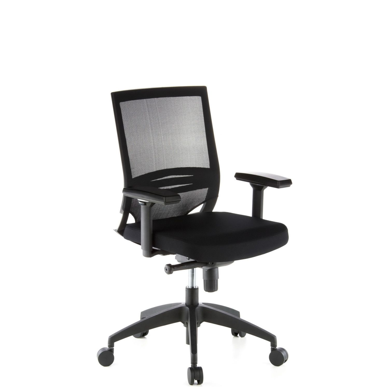 b rostuhl chefsessel porto base sitz stoff r cken netz hjh office profi office b2b. Black Bedroom Furniture Sets. Home Design Ideas
